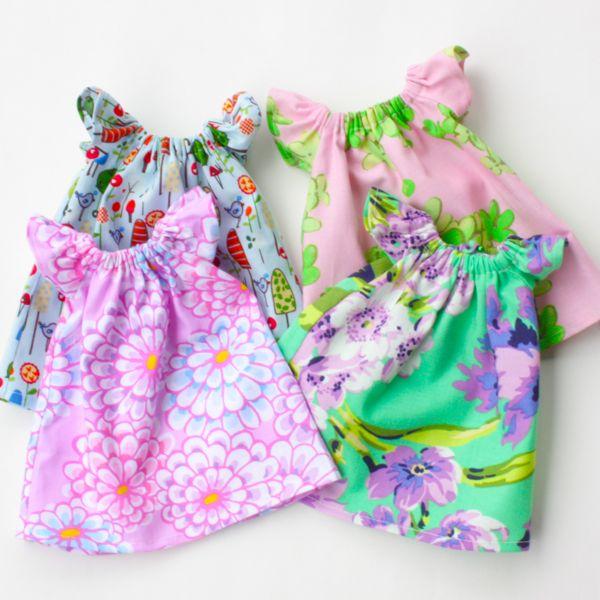 Bit of Whimsy Dolls | Pretty Peasant Dress PDF Pattern