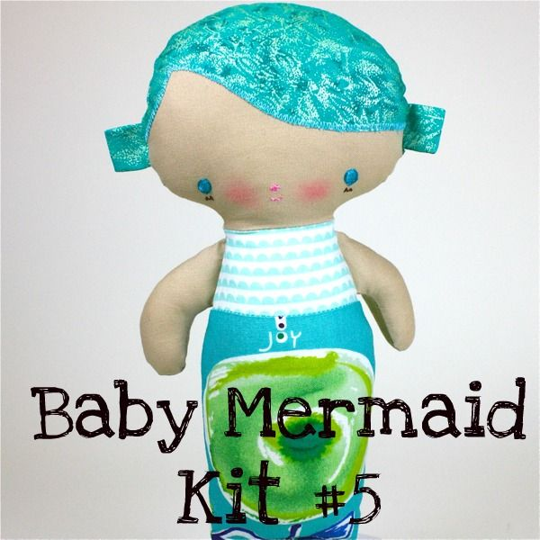 Baby Mermaid Kit #5